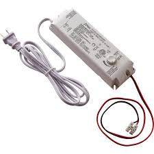 commercial electric 30 watt 12 volt led lighting power supply with dimmer