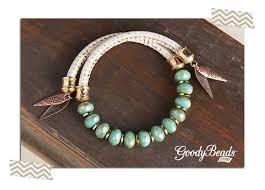 goodybeads com blog morocco mint memory wire bracelet