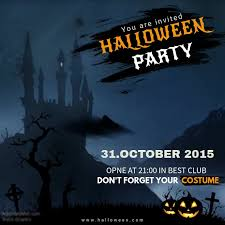 Halloween Template Halloween Party Video Invitation Template Postermywall