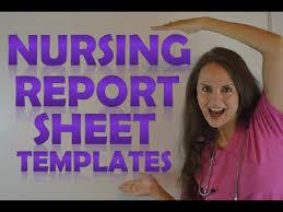 Nursing Shift Report Template Nursing Shift Report Sheet Templates How To Give A Nursing Shift
