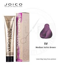 Joico Vero K Pak Color 5v Medium Voilet Brown