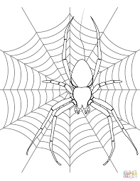 Small Picture Spider coloring pages Free Coloring Pages