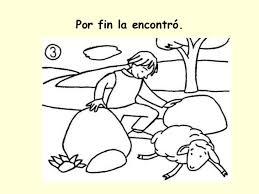 Resultado de imagen de parábola de la oveja perdida