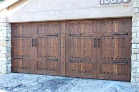 wood stained garage doors all of our stained wood doors are done through a specific process wood stained garage doors