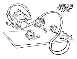 Small Picture Animal Jam Coloring In Arctic fox animal jam coloring page free