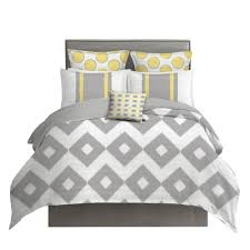 outstanding yellow and gray ikat bedding set project cottage king duvet blue uk by trina turk