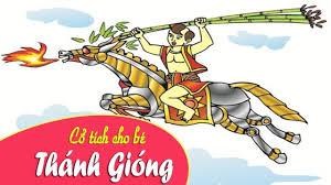 Nghe truyện cổ tích Việt Nam - Thánh gióng ngày xửa ngày xưa - YouTube