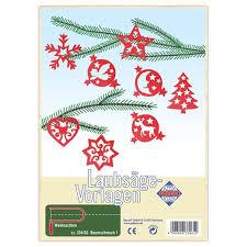 Weihnachten Baum Schmuck 8 Anhänger Laubsägevorlage Kinder Holz Laubsägen Matches21