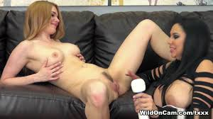 Jayme Langford Missy Martinez in Missy and Jayme Fuck WildOnCam