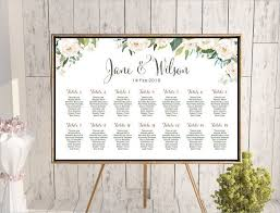 Wedding Reception Seating Chart Template Word Wedding Seating Chart Template Wedding Seating Board
