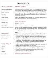 8 Hairdressing Cv Templates Download For Free | Sample Templates