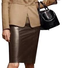 talbots skirt brown black image 0