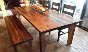 dining room tables reclaimed wood. Reclaimed Dining Table Wood Room Tables Custom Kitchen Sets B
