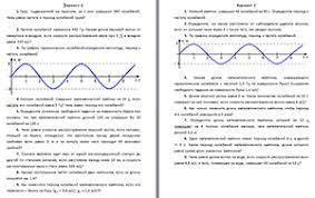 Физика класс видеоуроки тесты и презентации для учителя на  Контрольная работа по теме Механические колебания и волны