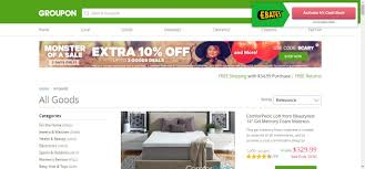 groupon goods home page