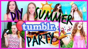summer pool tumblr. DIY Tumblr Summer Pool Party: Decor, Treats, Activities | Nicole Marie - YouTube D