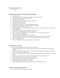 Mental Health Counselor Resume Counselling Job Description Patient