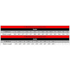 Ccm Runner Size Chart Ccm Speed Blade Stainless Steel Runner