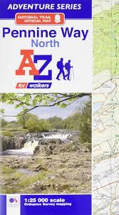 Pennine Way Distance Chart Pennine Way North Adventure Atlas Amazon Co Uk Geographers
