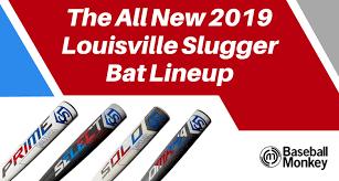 The All New 2019 Louisville Slugger Bat Lineup