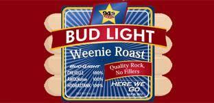 Weenie Roast 2017 Seating Chart 94 5 The Buzz Bud Light Weenie Roast With Chevelle