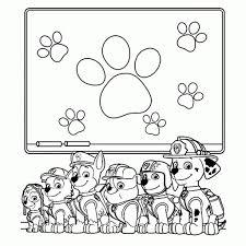 Kleurplaten Paw Patrol Eenvoudig Kleurplaten Honden En Puppies