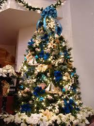 Christmas Tree Color And Decor Schemes  Setting For FourBlue Christmas Tree Ideas