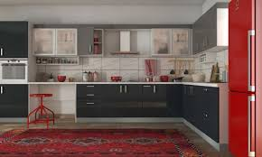 Coppersmith Barbet L Shaped Kitchen