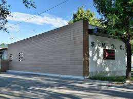 Composite Material Facade Panel Greenwood Wall To By Woodn Industries