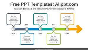Timeline Templates Free Timeline Template Cute Free Powerpoint Diagrams