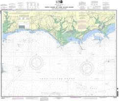 Noaa Nautical Chart 12374 North Shore Of Long Island Sound Duck Island To Madison Reef