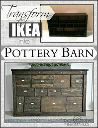 transforming ikea furniture. Ikea Makeover Remodelaholics.com   Transform Into Pottery Barn Transforming Ikea Furniture