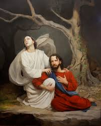 gethsemane 50 in x 40 in oil on linen springville museum of art permanent collection