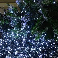 480 Christmas Tree Lights 480 Led 6 2m Premier Cluster Christmas Tree Lights With Timer Cool White
