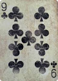 Image result for NINE of Clubs CARD