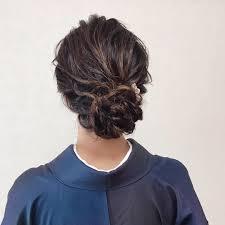 Moriyama Mamiさんのヘアスタイル お義母様よりお借りしたお着物