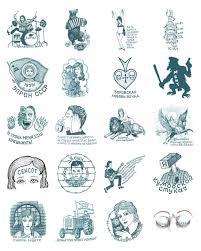 российские тюремные татуировки превратили в стикеры для Telegram