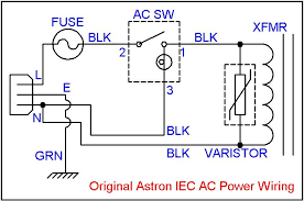 adding an inrush current reducer to an astron linear power supply Iec Plug Wiring Diagram the thermistor gets installed in series with the wire from fuse holder to the power switch, after the fuse holder similar to the above procedure, IEC C14 Connector Pinout