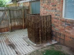 Bamboo Screen Outdoor Model