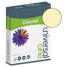 Amazon Com Universal Colored Paper Multipurpose Paper Office