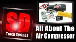 air lift analog control system heavy duty compressor dual path air lift analog control system heavy duty compressor dual path gauge 25856 329 16 sd truck springs leaf springs helper springs and suspension