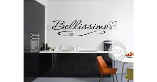 bellissimo kitchen wall sticker quote