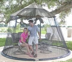 outdoor mosquito net large canopy umbrella