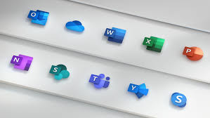 An Iconic Change Microsoft Unveils New Office Logos Komo