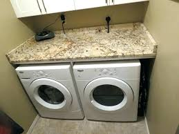 washer dryer work surface washer and dryer granite quartz washer dryer work surface whirlpool front load