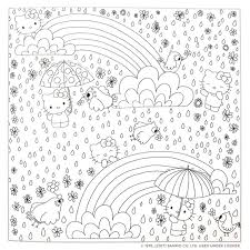 Hello Kitty Friends Coloring Book Various 9781421592749