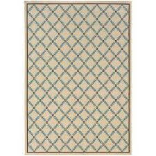 seaside cream 7 ft x 10 ft outdoor area rug