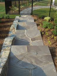 how to install a flagstone walkway