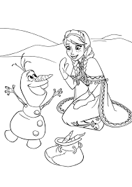 Coloriage Walt Disney Reine Des Neiges