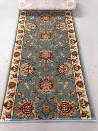 home stair hall runners view all runners by style custom traditional runners eternity 3606 blue stair runner